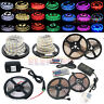 5M 16.4ft SMD 3528 5050 5630 300 LED RGB White LED Strip Light 12V Power Supply