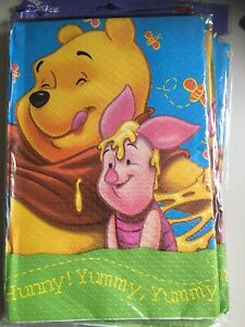 Winnie The Pooh Two Packs Of Paper Table Covers BNIP