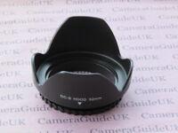 52mm Flower Screw Mount Lens Hood For Canon RF 35mm F1.8 IS STM Macro Lens