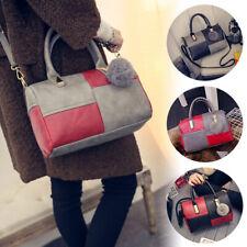 Damen Schultertasche große Handtasche Leder Moderne Umhängetaschen Shopper Bag