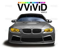 Golden yellow headlight foglight taillight tint film 2ft x 5ft wrap VViViD Vinyl