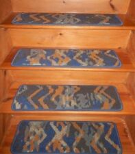 "13  Step 9'' x 30''  Landing  28"" x 30""   Art- Dec Nylon Carpet Stair Treads"