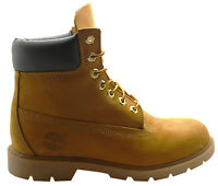 Timberland 6 Inch Basic Mens Boots Wheat Leather Lace Up 18094 U19