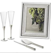 Vera Wang Wedgwood With Love Cake Knife and Server