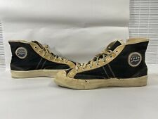 Vintage men's basketball sneakers canvas 1950s converse-jeepers