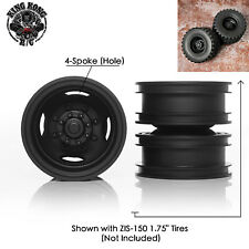 "Metal 1.75"" Rear Wheels for 1/12 1/14 R/C Soviet ZIS-150/CA10/Tamiya Truck"