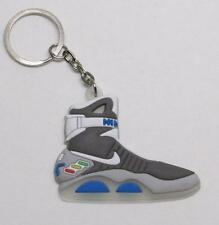 BACK TO THE FUTURE II Glow in the Dark Sneaker KEY CHAIN Ring Keychain NEW