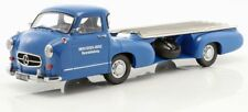 iSCALE - MERCEDES-BENZ RACING CAR TRANSPORTER THE BLUE WONDER 1:18 SCALE