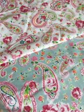 GORGEOUS PURE POLY COTTON FABRIC REMNANTS - 4 PIECES, OVER 8 metres!!