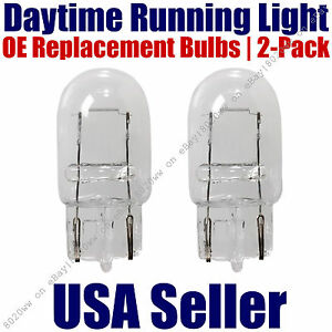 Daytime Running Light Bulbs 2pk OE Replacement On Listed VW Volkswagen - 7440