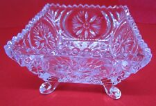 Square Glass Dish - Vintage