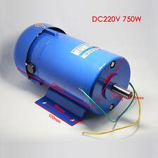 1PCS DC220V 750W 1800RPM Permanent Magnet DC Motor Variable Speed Control Motor