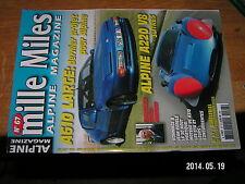 ** Mille Miles n°67 A610 Large Alpine A220 V8 Andruet Moteur V6 A310