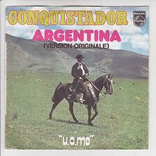 """CONQUISTADOR Dischi 45 giri 7"""" ARGENTINA - U.O.M.E. Cavallo -PHILIPS 6173626"""