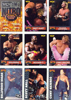 WCW 1999 Topps Nitro 72 Trading Card Set Hulk Hogan NWO Bret Hart Randy Savage