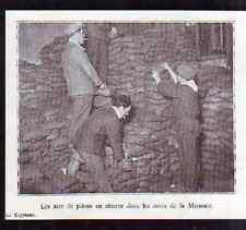 1932  --  SACS DE PIECES EN RESERVE A LA MONNAIE  H213