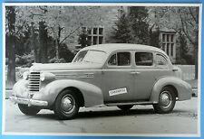 "12 By 18"" Black & White Picture 1937 Oldsmobile Six 4 Door Sedan Olds 6"
