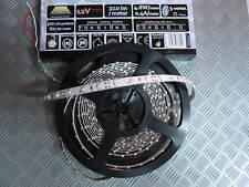 STRIP 5mt 300 LED 12V STRISCIA FLESSIBILE LAMPADA BIANCA PVC da ESTERNO GIARDINO