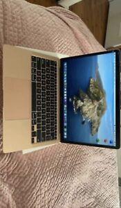 Apple MacBook Air 13in (256GB SSD, M1, 8GB) Laptop - Gold - MGN63X/A...