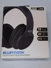 Altec Lansing Bluetooth Over Ear Headphones MZX301-BLK-WG Foldable Microphone