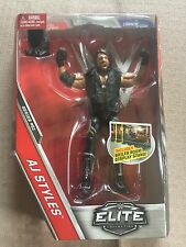 WWE Mattel Elite Series 51 AJ Styles with Entrance Jacket MOC