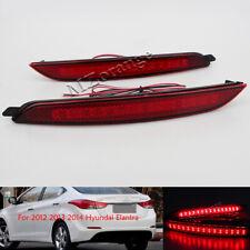 LED For 2012-13 Hyundai Elantra MDAvante Rear Bumper Reflector Brake Tail Lights