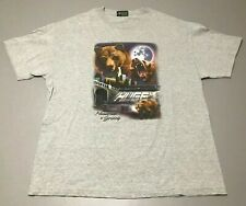 THE HUNDREDS X GRIZZLY Streetwear Skate SkateBoard Gray T-Shirt Adult Size XL