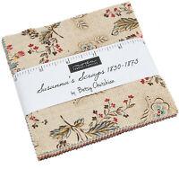 "Susanna's Scraps Moda Charm Pack 42 100% Cotton 5"" Precut Fabric Quilt Squares"