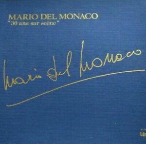 Mario del Monaco –  30 ans sur scène - Box 4 LP + 1 45 giri & Booklet -Near Mint