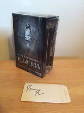 SIGNED Miss Peregrine's Peculiar Children Box Set w/ Cards by Ransom Riggs + PIC