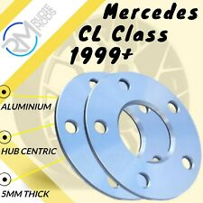 Wheel Spacers 15mm 2 5x112 66.6 OE Bolts For Merc CL-Class CL63 AMG C216 06-13