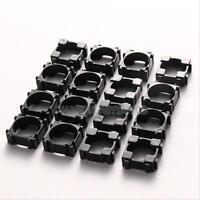 100pcs 18650 Battery Safety Anti Vibration Holder Cylindrical  Bracket Storage