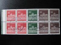 GERMANY Mi. #H-Blatt 17 used stamp booklet pane! CV $24.00