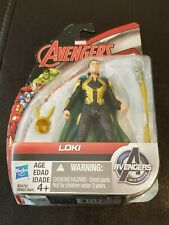 "New Sealed 2015 Marvel Avengers Loki Figure 4"" Hasbro"