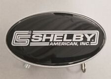 "Shelby American Logo Reciever Hitch Cover 2""x 2""  with Pin"