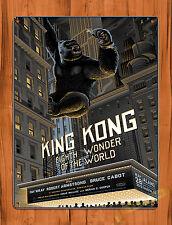 Tin-Ups Tin Sign King Kong Art Painting Movie Poster