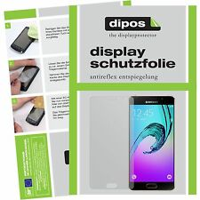 2x Samsung Galaxy A5 (2016) Schutzfolie Display Folie SM-A510 matt dipos