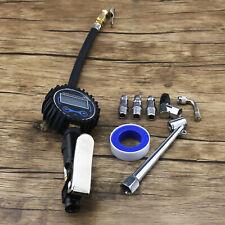Car Truck Air Tyre Auto Digital Inflator Pump Pressure Guage Motorcycle 200PSI