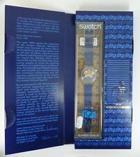 Reloj Cronógrafo Swatch En Caja Nuevo cien años del movimiento olímpico