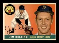 1955 Topps Set Break # 192 Jim Delsing EX *OBGcards*