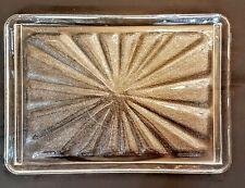 "Amana Radarange Microwave Tray VTG 15.25"" x 10.75"" Glass Plate w Drainage Ridges"