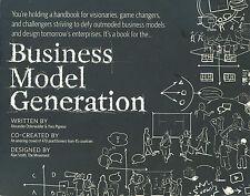 Business Model Generation Hardcover Alexander Osterwalder Yves Pigneur Nice Copy