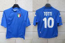 VINTAGE Maillot ITALIE TOTTI n°10 ITALIA maglia Kappa calcio shirt YXL 12 ans