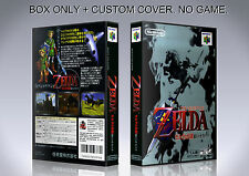 LEGEND OF ZELDA OCARINA OF TIME. JAPAN. Box/Case. N 64. BOX + COVER. (NO GAME).
