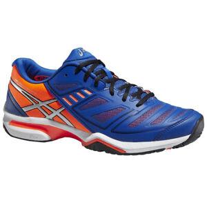 Asics Gel Solution Lyte 2 Tennisschuhe Herren Blau Orange Gr. 47 EU