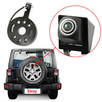 Tire Mount Backup RearView Camera For Jeep Wrangler JK 2007-15 Parking Safety