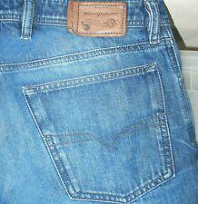 *HOT AUTHENTIC Men's DIESEL @ WAYKEE 849B STRAIGHT LEG Jeans 30 x 30 (Fit 30x29)