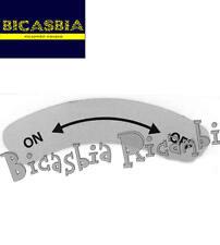 9448 - ON-OFF SOPRA ASTA BENZINA PER VESPA 50 125 PK XL - XL2