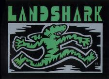 Land Shark Crew Clothing sharkwalk Skateboard Autocollant Skate Surf Board Vert sk8
