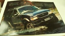 1998 & 1999 FORD EXPLORER Sales Brochures from New Zealand